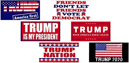 """Keep on Trumpin/' Donald Trump Sticker 4/"""" Election Decal Made in USA"""
