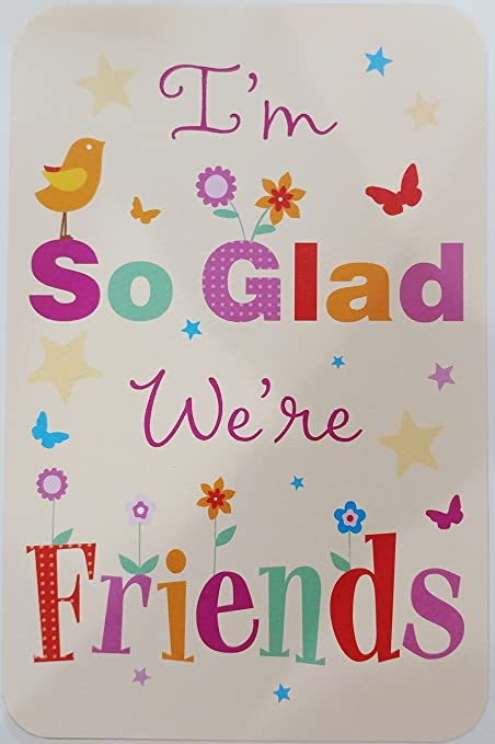 Amazon im so glad were friends greeting card friendship im so glad were friends greeting card friendship bff m4hsunfo