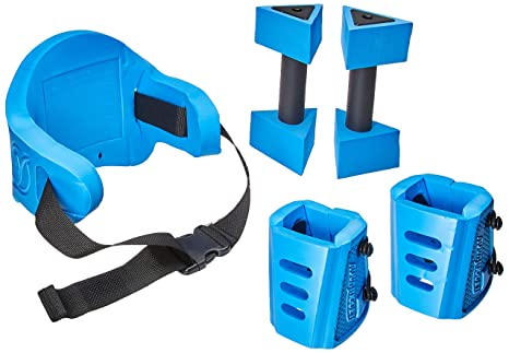 Blue Crosstrainer Aquajogger Active Value Pack