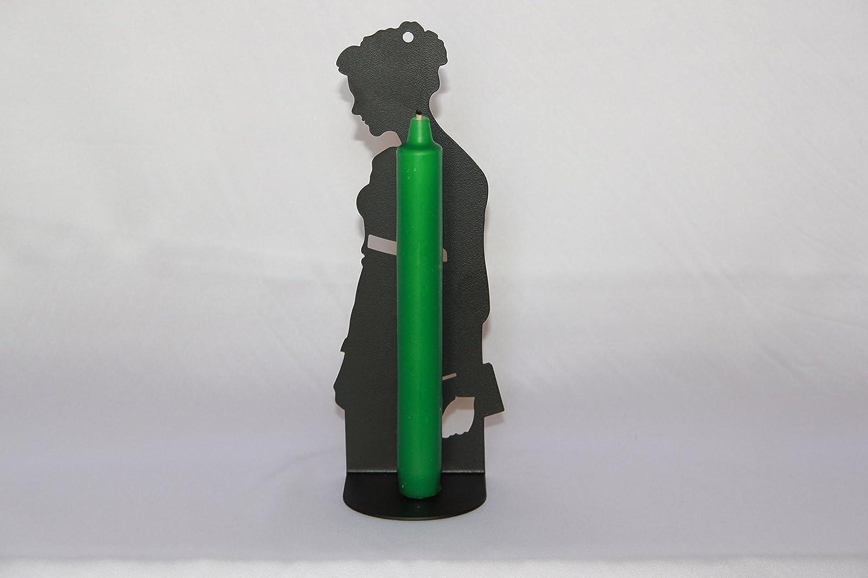 Porta candela serie Jane Austen. Prodotto artigianalmente in Italia. Cornali