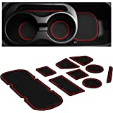 Custom Fit Cup, Door, Console Liner Accessories Kit for BRZ 86 FR-S 2020 2019 2018 2017 2016 2015 2014 2013 Subaru…