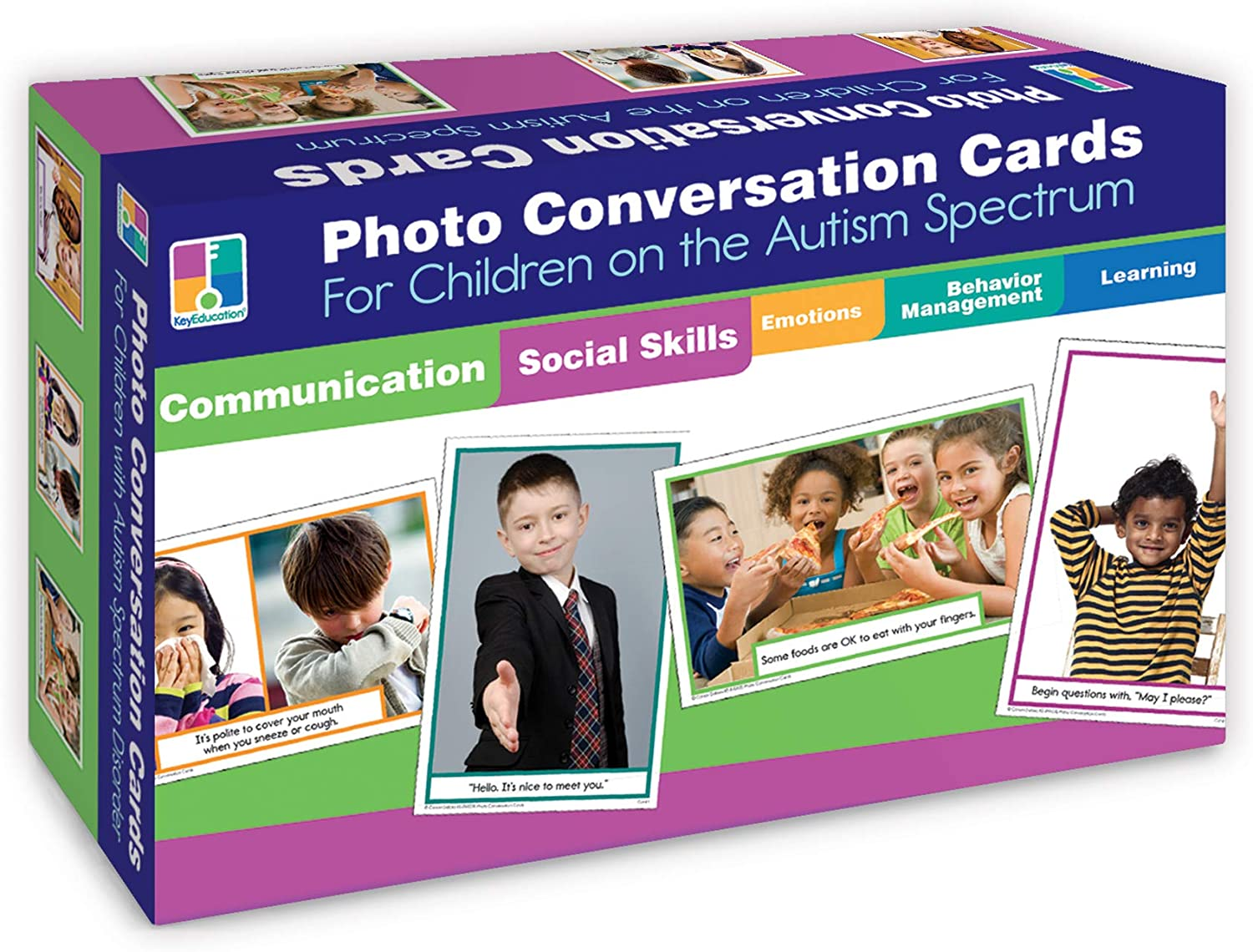 photo cards autism spectrum