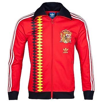 Adidas Original Mens Spain Track Jacket Red L: Amazon.es: Deportes y aire libre
