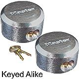 Master Lock - Hidden Shackle Locks Keyed Alike #6271KA-2