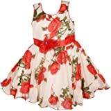 Wish Karo Baby Girls Georgette Frock Dress - (fr85TS) at amazon