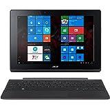 Acer Aspire Switch 10 E (SW3-013) 25,6 cm (10,1 Zoll HD IPS) Convertible Notebook (Intel Atom Z3735F, 2GB RAM, 32GB eMMC, Intel HD Graphics, Win 10 Home) grau