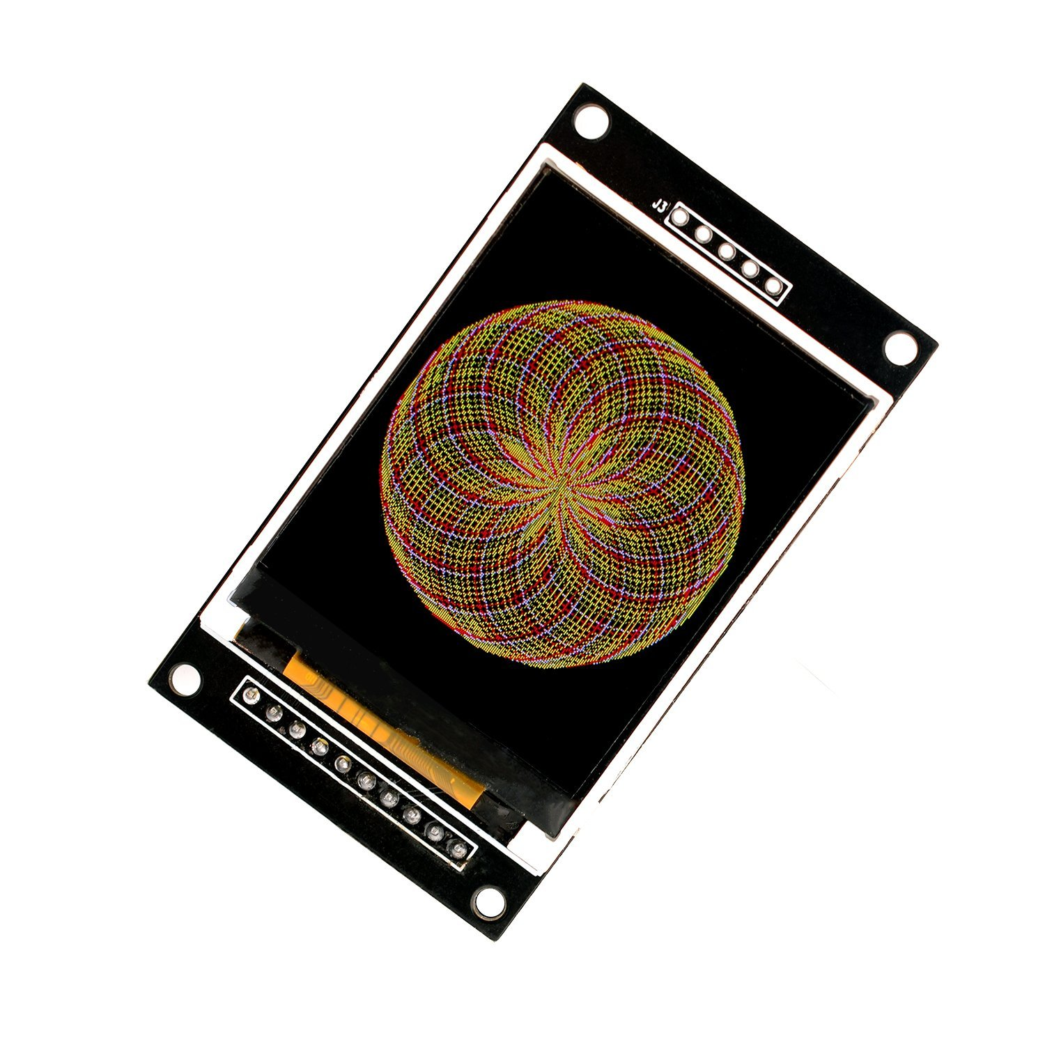 Microyum 20 Inch Spi Tft Screen Lcd Display Module Circuit Panic Android Games 365 Free Download With Sd Card Socket For Arduino Esp8266 Nodemcu 51 Stm32 Full Library And Supports