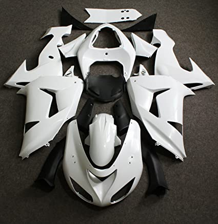 Amazon.com: ZXMOTO Unpainted Fairing Kit for Kawasaki Ninja ...