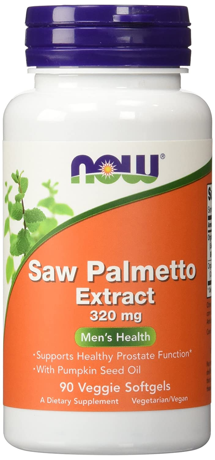 Now Foods Saw Palmetto Extract Image 1