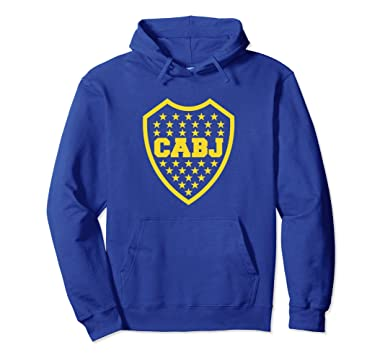 Unisex Club Atletico Boca Juniors Argentina Sweatshirt Hoodie buzo 2XL Royal Blue