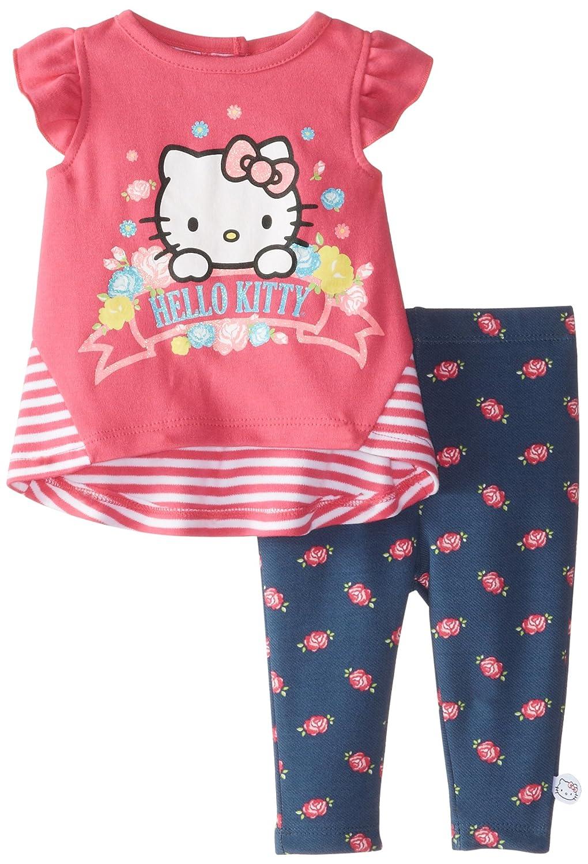 Hello Kitty SHIRT ベビーガールズ 3 - 6 Months マルチ B00Q02MBHC