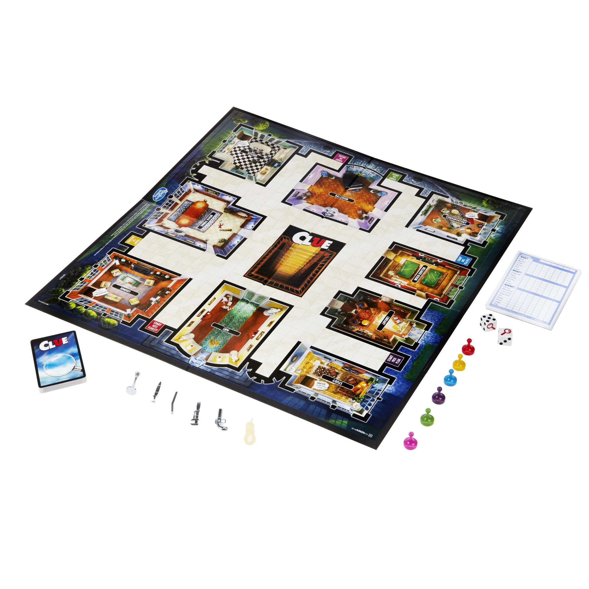 Clue Game by Hasbro (Image #3)