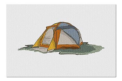 Image Unavailable  sc 1 st  Amazon.com & Amazon.com: Tent - Icon (20x30 Premium 1000 Piece Jigsaw Puzzle ...