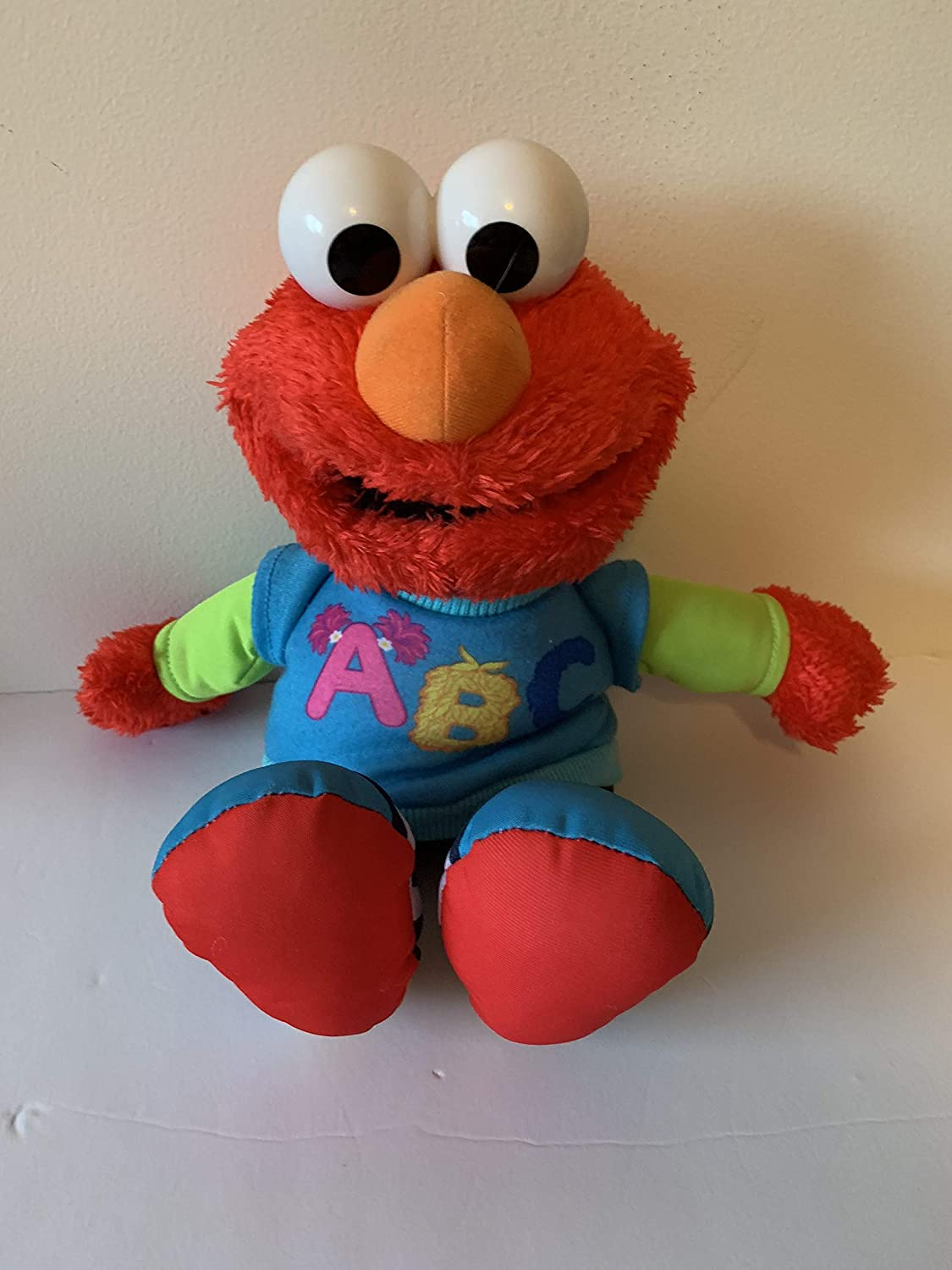 washable weighted buddy WEIGHTED PLUSH ELMO with 1 1//2 lbs