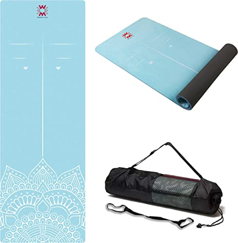 WWWW PIDO Suede TPE Yoga Mat Eco Friendly Non Slip Yoga Mat