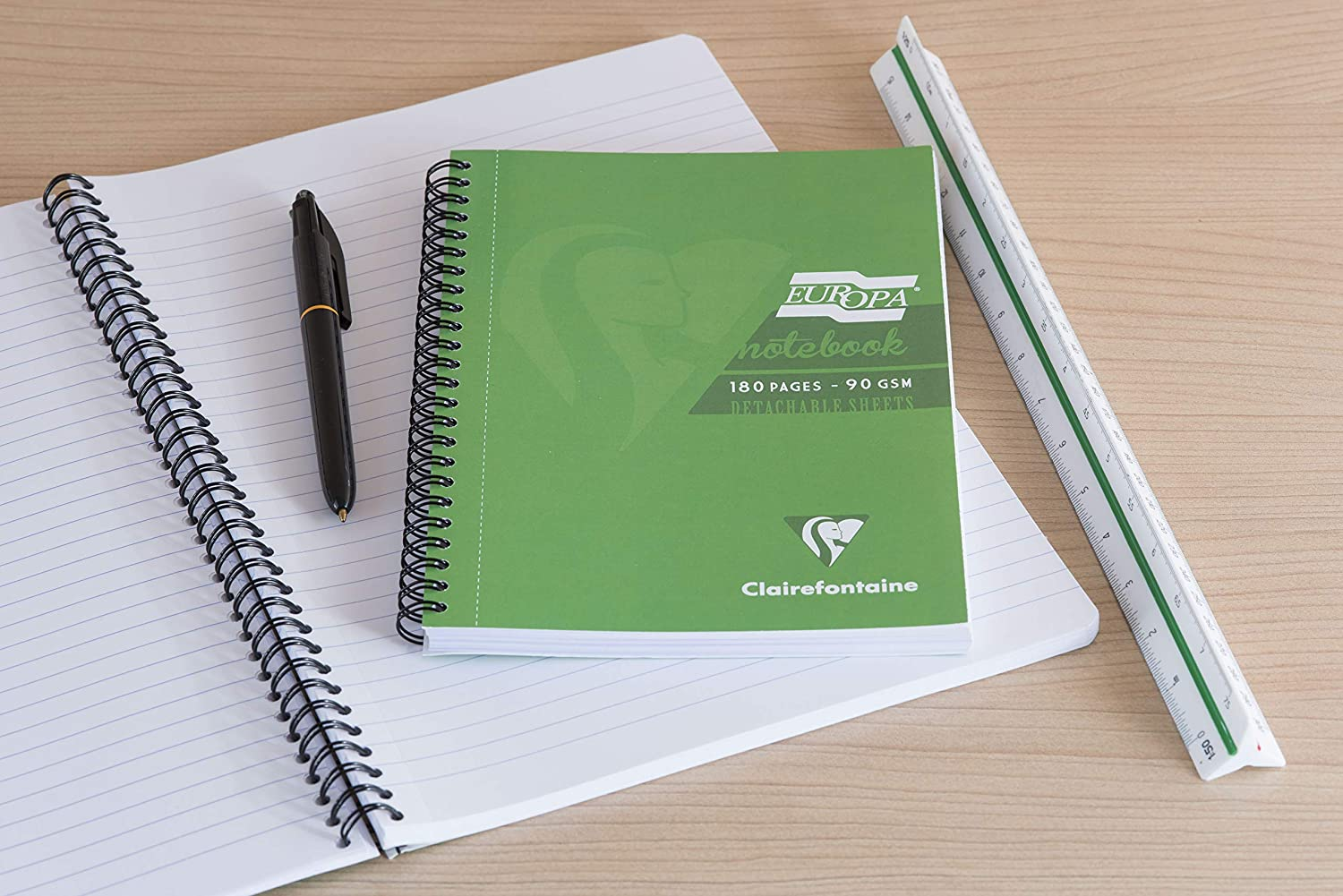 Clairefontaine Europa Notebook 90 gm A4 180 pages- Purple
