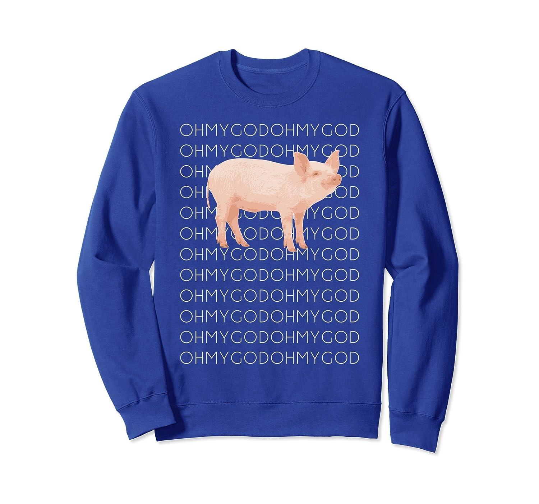Shane Dawson Oh My God Pig Sweatshirt-alottee gift