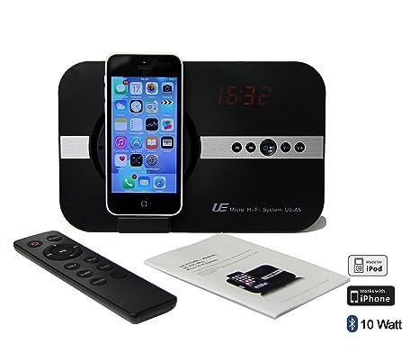 Soundsystem für Apple iPhone X Xs Xr iPhone 8 iPhone 7 iPhone 5 5S 6 6S SE Plus ipod Touch 5 5G iPad Pro ipad Mini Air mit Uh