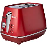 De'Longhi Distinta Flair, 2 Slice Toaster, CTI2003R, Glamour Red