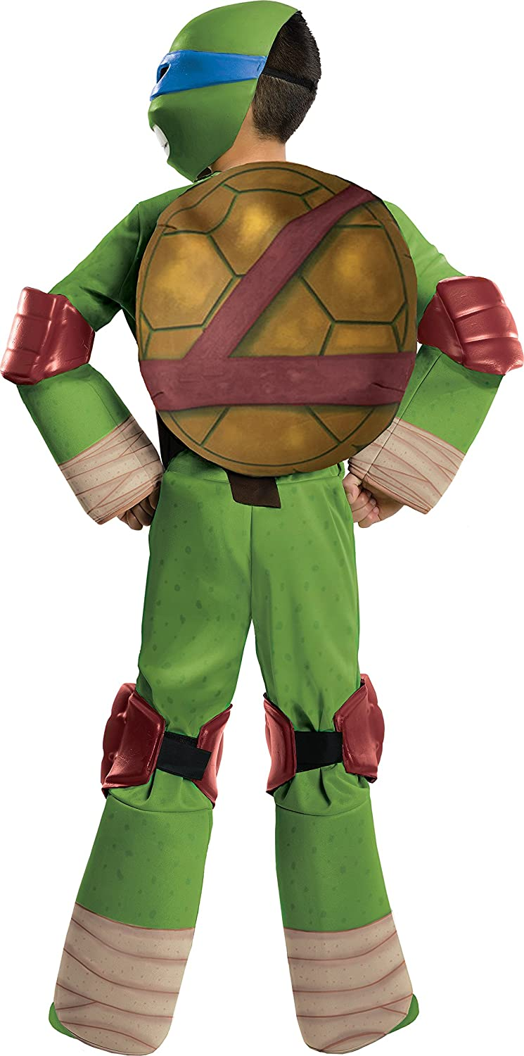 Amazon.com Teenage Mutant Ninja Turtles Deluxe Leonardo Costume Small Toys u0026 Games  sc 1 st  Amazon.com & Amazon.com: Teenage Mutant Ninja Turtles Deluxe Leonardo Costume ...