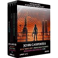 John Carpenter - Coffret : New York 1997 + Prince des ténèbres + Invasion Los Angeles + Fog [4K Ultra HD  bonus - Édition boîtier SteelBook]