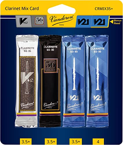 Vandoren Traditional Bb Clarinet Reeds Various Strengths Single Reed
