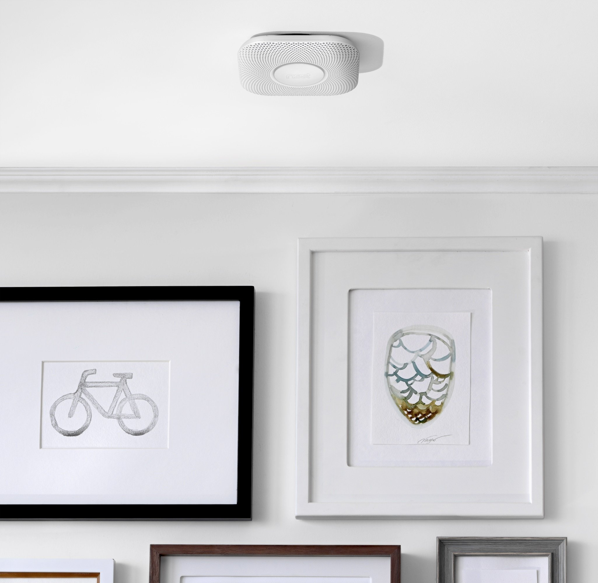 Nest Protect Smoke & Carbon Monoxide Alarm, Battery (2nd gen) by Nest