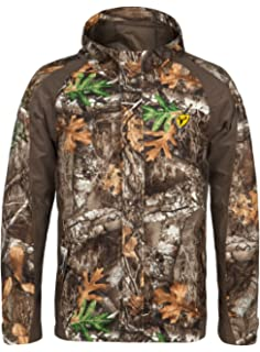 ee987d452cdc7 Scent Blocker 100% Polyester Full Front Zipper Drencher Insulated Jacket