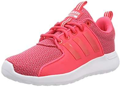 the best attitude 75c03 0b2f8 adidas Cloudfoam Lite Racer, Sneakers Basses Femme, Rose (Real PinkShock  Red