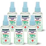 Alcohol 70% sanitizer spray/ 60ML bio cleanser antiseptic/disinfectant Anti virus kill 99% germs (Sett of 6 Pieces)