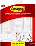 Command General Purpose Variety Kit, 17231-ES, Hangs Up to 19 Items, Organize and decorate your dorm