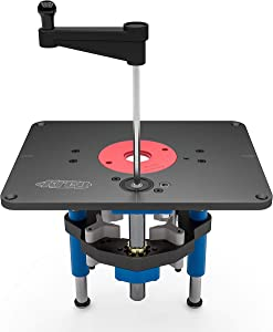 Kreg PRS3000 Precision Router Table Lift - Best for Heavy Duty Routing