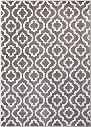 Safavieh Soho Collection SOH733D Handmade Light Brown and Multi Premium Wool Area Rug 5 x 8