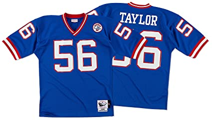 cd0af496913 Amazon.com : Lawrence Taylor Giants 1986 Jersey Mitchell & Ness 40 ...