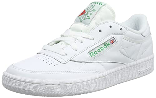 cfd3ae69ece Reebok Men s Club C 85 Archive White Glen Green Excellen Leather Tennis  Shoes-