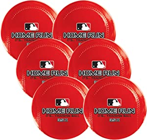 Franklin Sports MLB Weighted Training Baseballs/Softballs - Pack of 6 - 12.5 Oz, 17.5 Oz or 22.5 Oz - Heavy Balls for Hitting, Batting and Pitching Control Practice