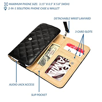 Funda acolchada tipo clutch para mujer Quilted Womens ...
