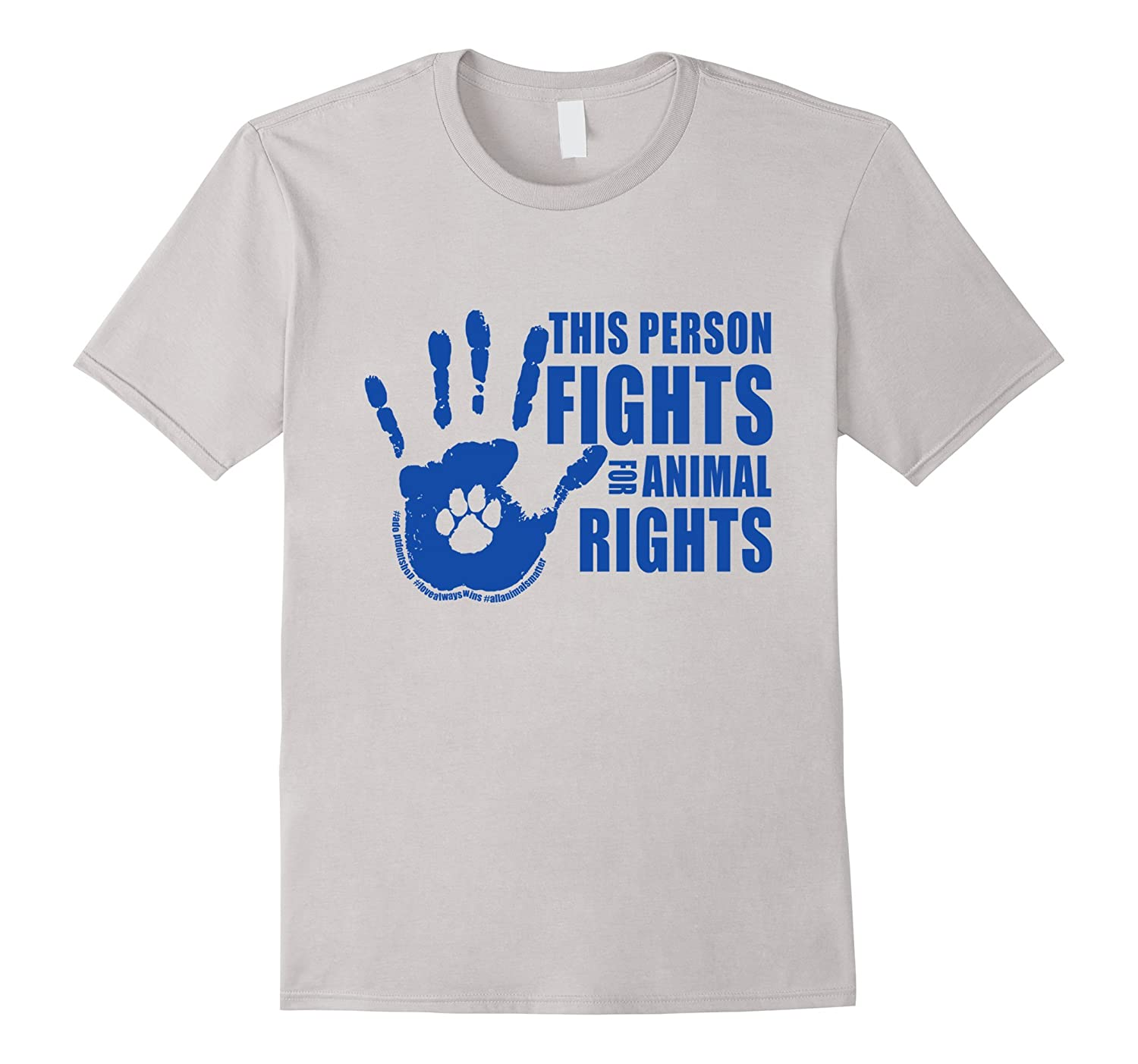 This Person Fights For Animal Rights Rescue T-Shirt-Vaci