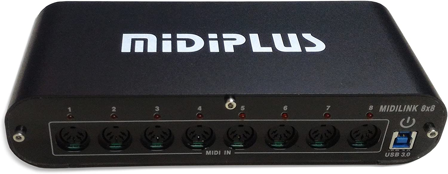 midiplus 8 in 8 out USB 3.0 MIDI interface 8x8