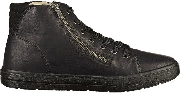 Rieker 30921-00 Botas Chukka de cuero hombre lana de cordero: Amazon.es: Zapatos y complementos