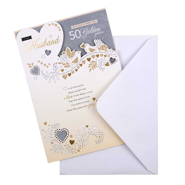 Hallmark - Tarjeta de felicitación de aniversario de boda para ...