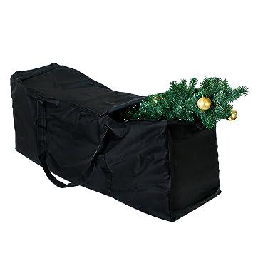 Sac de Rangement Cousiné Pour Ranger les Sapin de Noël Artificiel - Une Protection Absolue de vos Décorations Toute l'Année - Idéal Pour les Arbres Jusqu'à 4 mètres - Dimensions 135 cm x 38 cm x 54 cm