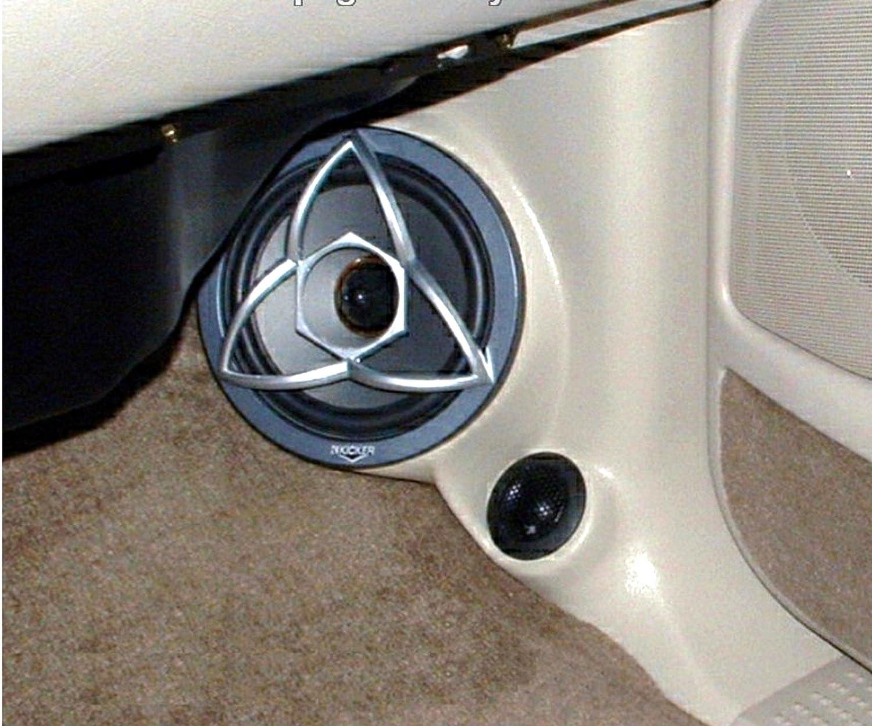 Tahoe 1999 chevy tahoe accessories : Amazon.com: Q-Logic Kick Panel Speaker Mounts for Cadillac ...