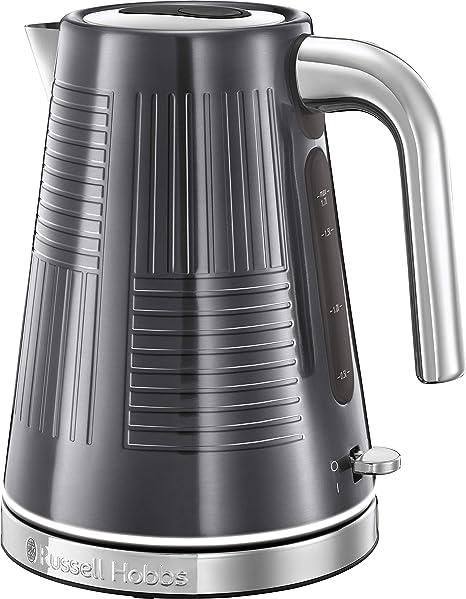 Russell Hobbs 25240-70/RH - Hervidor de agua (eléctrico, 1.7 litros, acero inox, 2400 W) color gris metálico: Amazon.es: Hogar