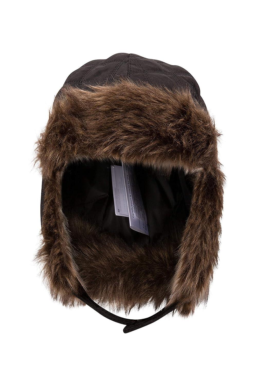 224aeae524857 Mountain Warehouse Kids Deer Trapper - Faux Fur Beanie