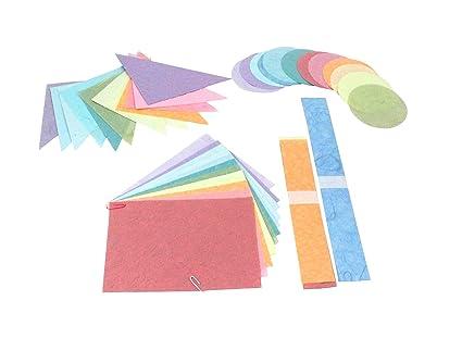 Amazon.com: DMD Paperbilities Geometric Shapes, Pastel Colors - 180 on