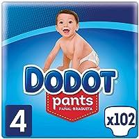 Dodot Pants Pañal-Braguita Talla 4, (9-15kg), 3 x