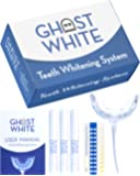 Ghost White Teeth Whitening Kit - Professional LED Light for Whiter Teeth Without Sensitivity, Includes 3 Smart Teeth…