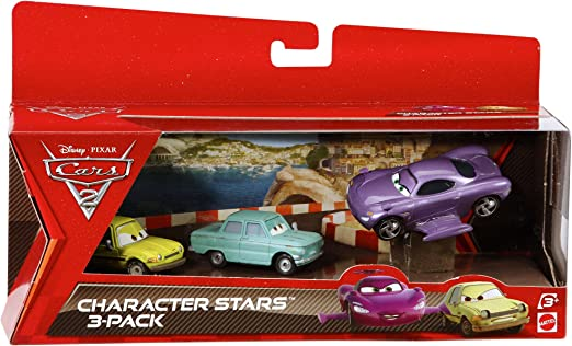 Cars 2 V5089 - Pack 3 Coches Personajes (Mattel): Amazon.es: Juguetes y juegos