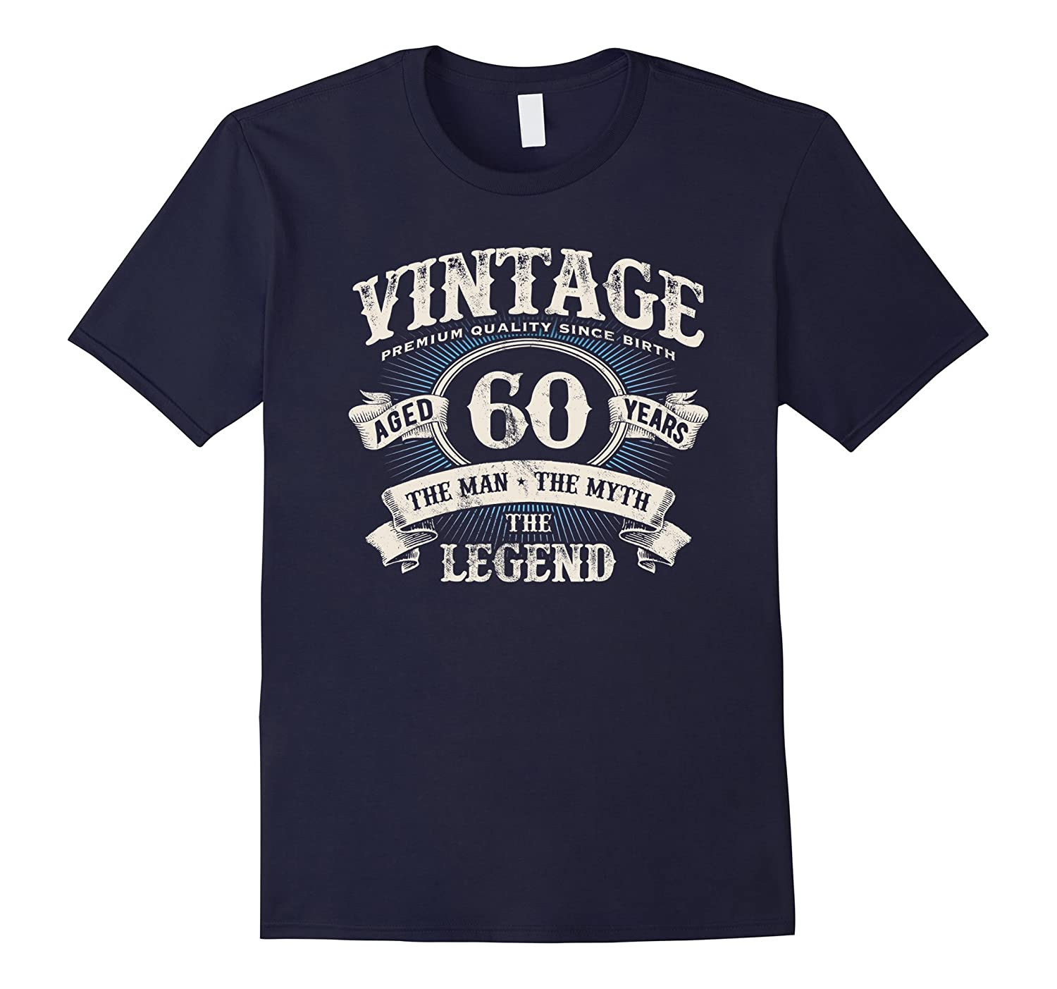 Vintage Premium Dude 60 Years Old Birthday Gift Made In 1958-RT